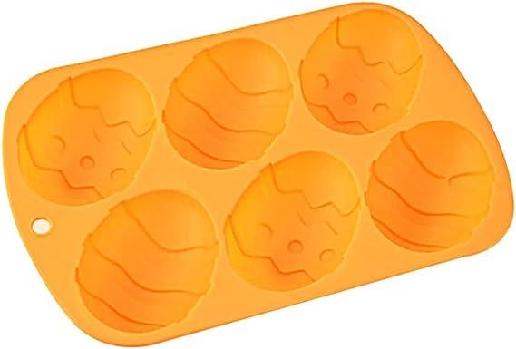 Kuchen YUSHIWA Easter Egg Mould 2 St/ücke Silikonform Ostern Backform Silikon Seifenform Osterhase Osterei Silikonform Ostern Kuchenform Schokoladenform DIY Formen f/ür Seife Backen Schokolade