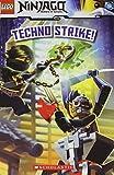 Techno Strike! (Turtleback School & Library Binding Edition) (Lego Ninjago)