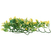 MagiDeal Flexible Jungle Vines Pet Habitat Decor for Lizard,Frogs, Chameleons and More Reptiles, Small, 30cm/0.98ft Long, with 1Pc Suction Cups