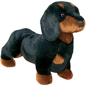 Amazon.com: Stuffed Spats Black and Tan Dachshund Dog 14
