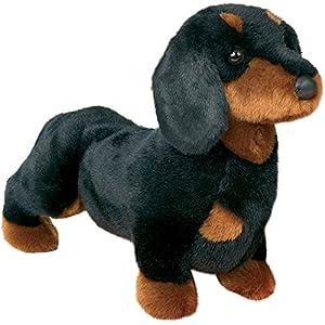 "Stuffed Spats Black and Tan Dachshund Dog 14"" 20"