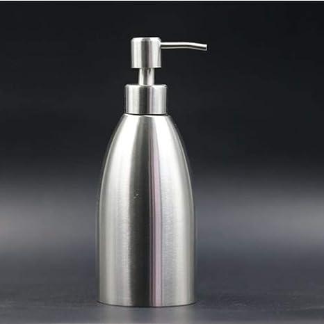 SMQ Dispensador de jabón Acero Inoxidable 304 Transparente ...