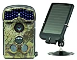 Ltl Acorn 5310WMC Wide Angle Surveillance IP54 Waterproof Digital Activated Camera + Solar Panel Charger
