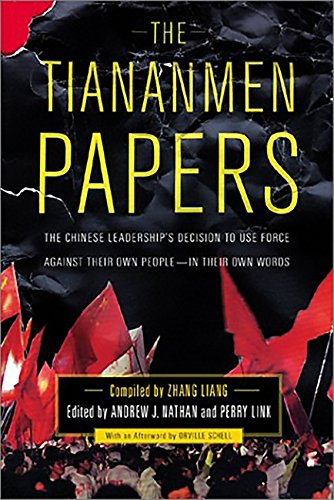 Read Online The Tiananmen Papers pdf epub