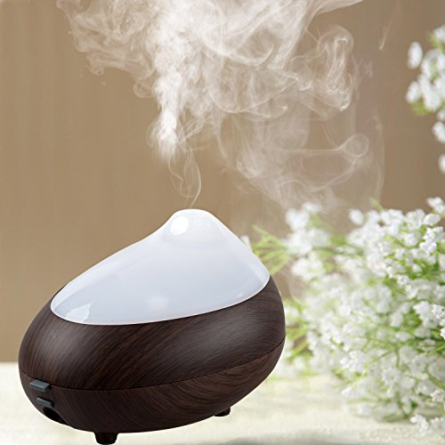BlueFire Aromatherapy Ultrasonic Humidifier Color Changing