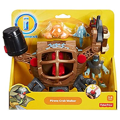 Fisher-Price Imaginext Pirate Crab Walker: Toys & Games