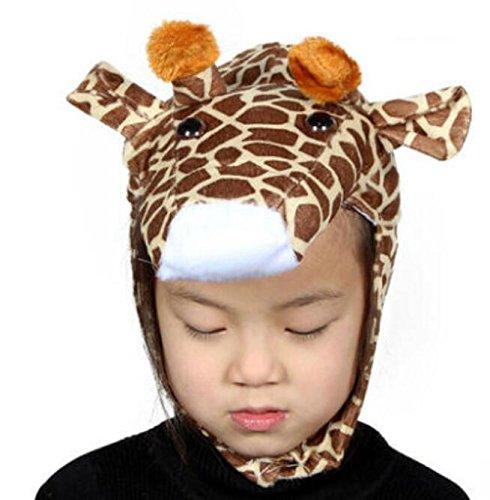 Goodscene Party decoration accessories Cute Kids Performance Accessories Cartoon Animal Hat (Giraffe) by Goodscene