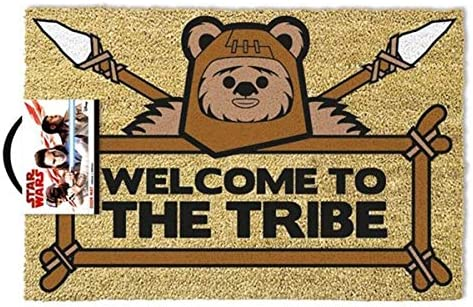 Star Wars Doormat Ewok Welcome to The Tribe