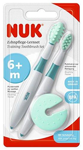 Nuk Entrena - Set de de cepillos dentales