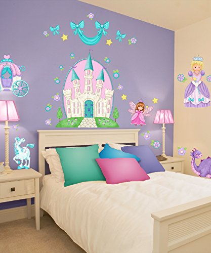 Borders Unlimited Princess Camryn Super Jumbo Applique