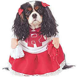 Rubie's Costume Co Grease 40th Anniversary Rydell High Cheerleader Pet Costume, Medium