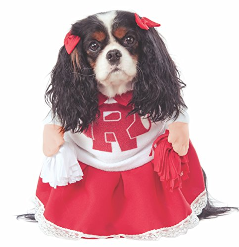 Dog Referee Costume (Rubie's Costume Co Grease 40th Anniversary Rydell High Cheerleader Pet Costume,)