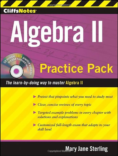 CliffsNotes Algebra II Practice Pack (Cliffnotes) (Mcdougal Littell Math Course 3 Answer Key)