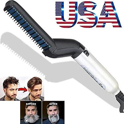 Amazon.com: Rápido alisador de pelo multifuncional rizador y ...