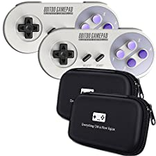8Bitdo SN30 Double-Pack Controller Bundle with Bonus Carrying Cases - for iOS/Android/Mac/PC