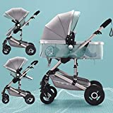 3 in 1 baby stroller for Newborns high Landscape Travel System baby stroller with Folding car seat Strollers for Children
