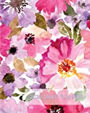 2020 Daily Planner: Big Bold Watercolor Floral