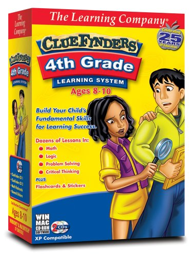 TLC Clue Finders 4th Grade Learning System (PC & Mac)