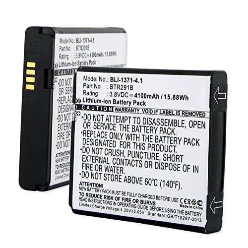 Pantech JETPACK 4G LTE Wifi Hotspot Battery (Li-Ion 3.8V 4100 mAh ) - Replacement For Pantech BTR291B Battery