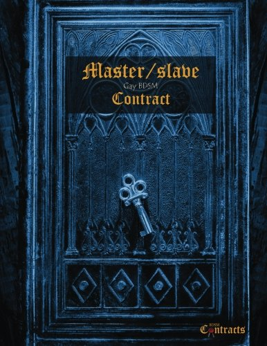 Master/slave Gay BDSM Contract (male slave)