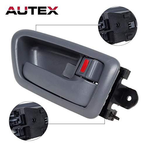 ay Interior Door Handle Front/Rear Right Side Passenger Side Replacement Handle compatible with 1997 1998 1999 2000 2001 Toyota Camry 6927733020B0, 69205AA010B0 ()