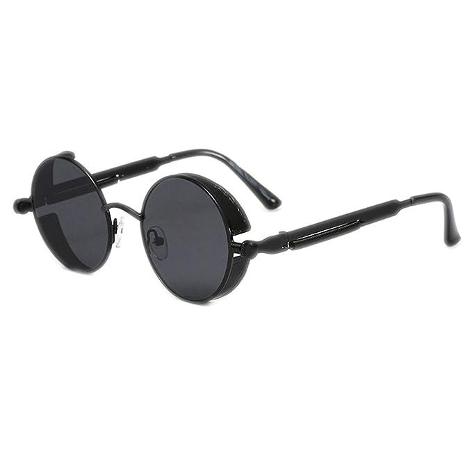 WERERT Gafas de Sol Deportivas, Steampunk Goggles Sunglasses ...