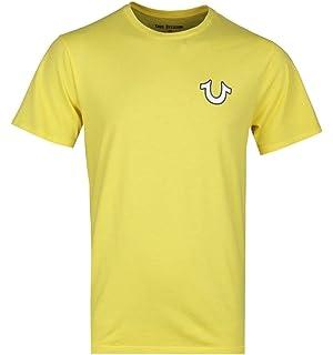 True Religion T-Shirt Noir Avec Logo de Bouddha doré: Amazon.es: Ropa y accesorios