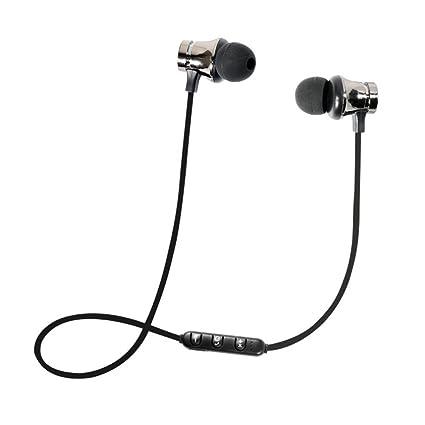 Auriculares Bluetooth STRIR Cascos Bluetooth magnéticos y deportivos, Auriculares inalámbricos con Bluetooth 4.2 para running