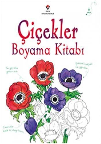 Cicekler Boyama Kitabi 9789754036947 Amazon Com Books