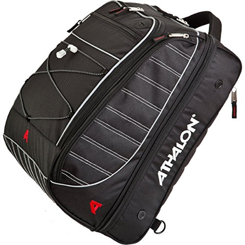Athalon The Glider-Boot Bag, Black, One Size (Glider Travel System)