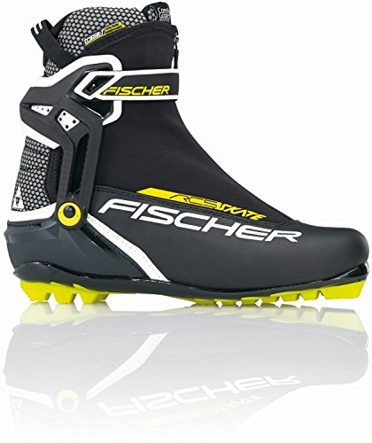 Fischer RC5 Skate Boot Black/Yellow, 45. - Fischer Nordic Ski Shopping Results