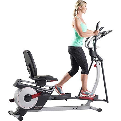 51QR5TwOGcL - Pro-Form Hybrid Recumbent Bike / Elliptical Trainer Pro