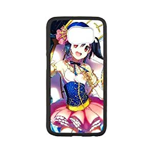 Generic for Samsung Galaxy S6 Cell Phone Case Black Date A Live Custom HAKHAOKHG2043