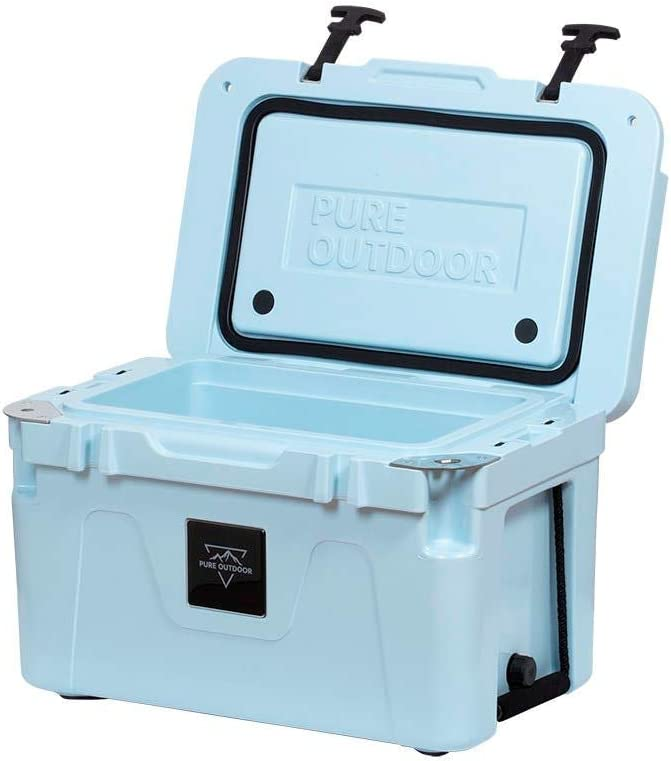 Monoprice Emperor Cooler – 25 Liters – Blue Securely Sealed, Ideal for The Hottest and Coldest Conditions – Pure Outdoor Collection