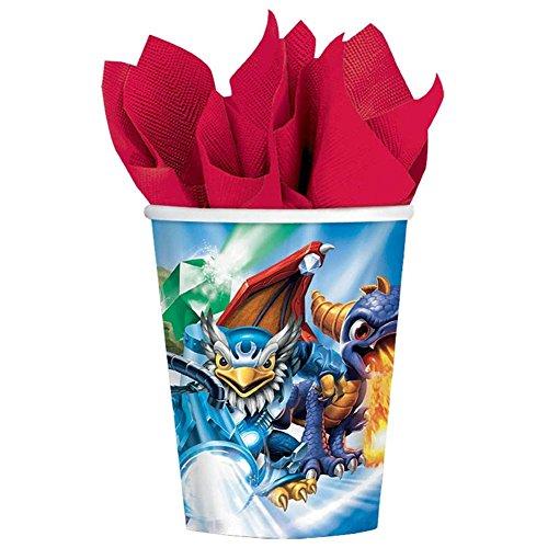 Skylanders 9 oz Paper Cups [8 Per Pack]
