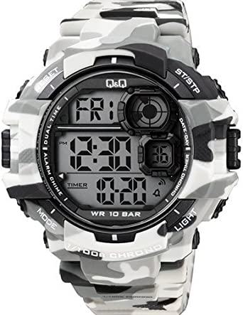 watches metallic resin stainless amazon com s steel dp quartz and g casio shock watch color men casual
