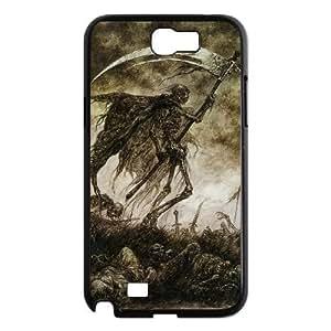 GGMMXOGrim Reaper Phone Case For Samsung Galaxy Note 2 N7100 [Pattern-1]