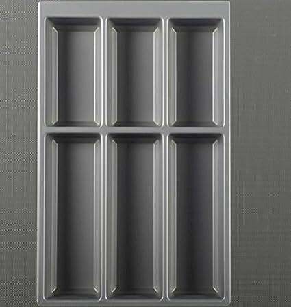Agoform Estuche de Cubertería Separado Bandeja para Cubiertos Estera de Carga arcitech Bastidor - 60 cm