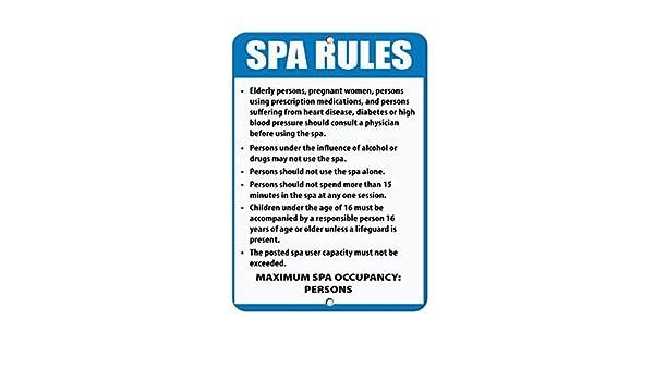 Spa normas y reglamentos lectura y seguir Spa normas para ...