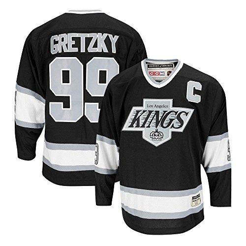 CCM Los Angeles Kings Wayne Gretzky Authentic Heroes of Hockey Jersey (XXL/56)