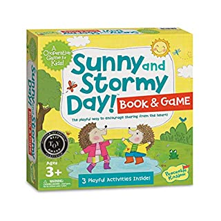 Peaceable Kingdom Sunny and Stormy Day A Cooperative Sharing Game for Kids!