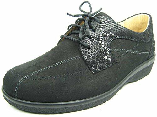 Chaussures lacets Ganter femme à Noir de 22047120100 pour ville 5HHqXBw