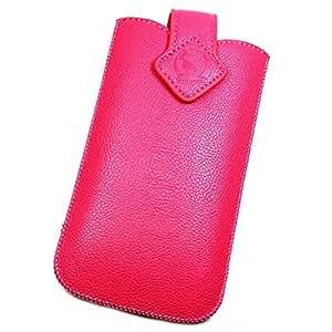 Funda Pochette de piel sintética rosa XXXL para Lenovo Vibe Z K910