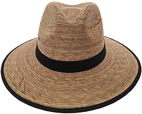 Headchange Mexican Moreno Palm Straw Safari Sun Hat at Amazon Men s  Clothing store  285c4641489d