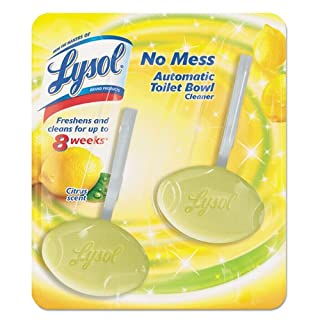 LYSOL Brand No Mess Automatic Toilet Bowl Cleaner, Citrus - Includes four twin packs per case.