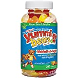 Yummi Bears Wholefood and Antioxidants, 200 ct (Colors May Vary)