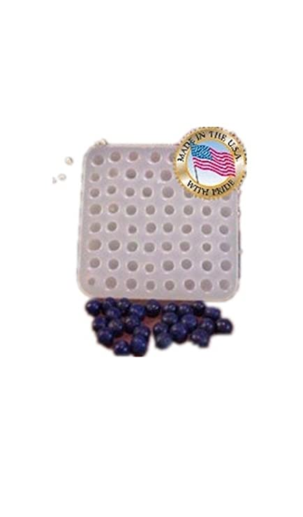 Amazon com: SILICONE MOLD - Mini Blueberry 64 cavity: Toys & Games