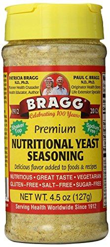Bragg Nutritional Yeast Seasoning, Premium 90 Ounce by Bragg (Image #1)