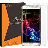 Galaxy S7 Edge Screen Protector - Peyou [2-Pack] [HD Crystal Invisible] [Full Screen Coverage] (Edge to Edge) Ultra Thin Premium PET Film Screen Protector For Samsung Galaxy S7 Edge (2016)