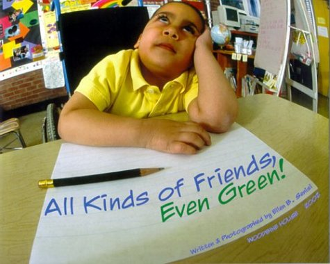All Kinds of Friends, Even Green! by Woodbine House (Image #2)